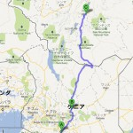 map Nairobi to Shashamone